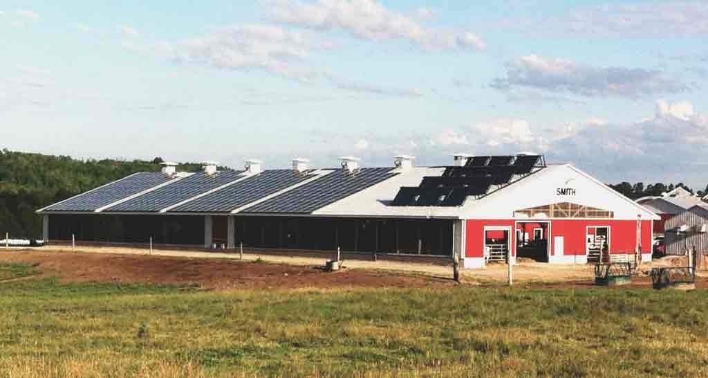 Smith Farms Solar PV & Hot Water