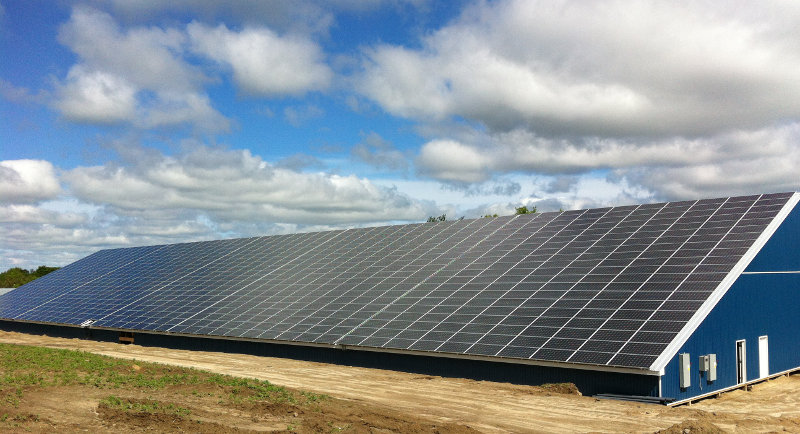 Farm Solar Installation in Simcoe ON