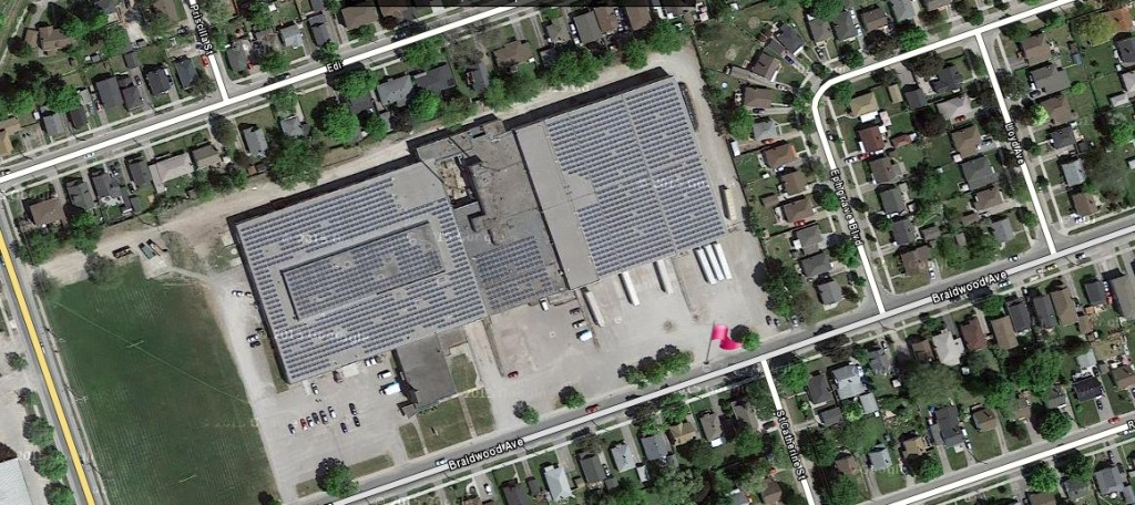 Braidwood 500kw solar