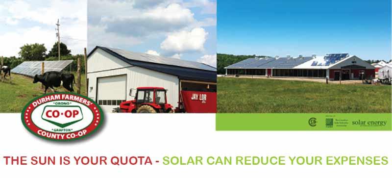 Durham Co Op Farm Solar Program