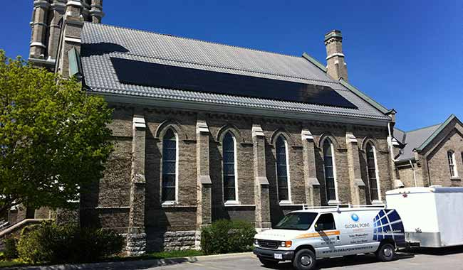 St. Andrews Church 10 kW Lindsay ON