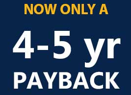 4 to 5 Year Payback